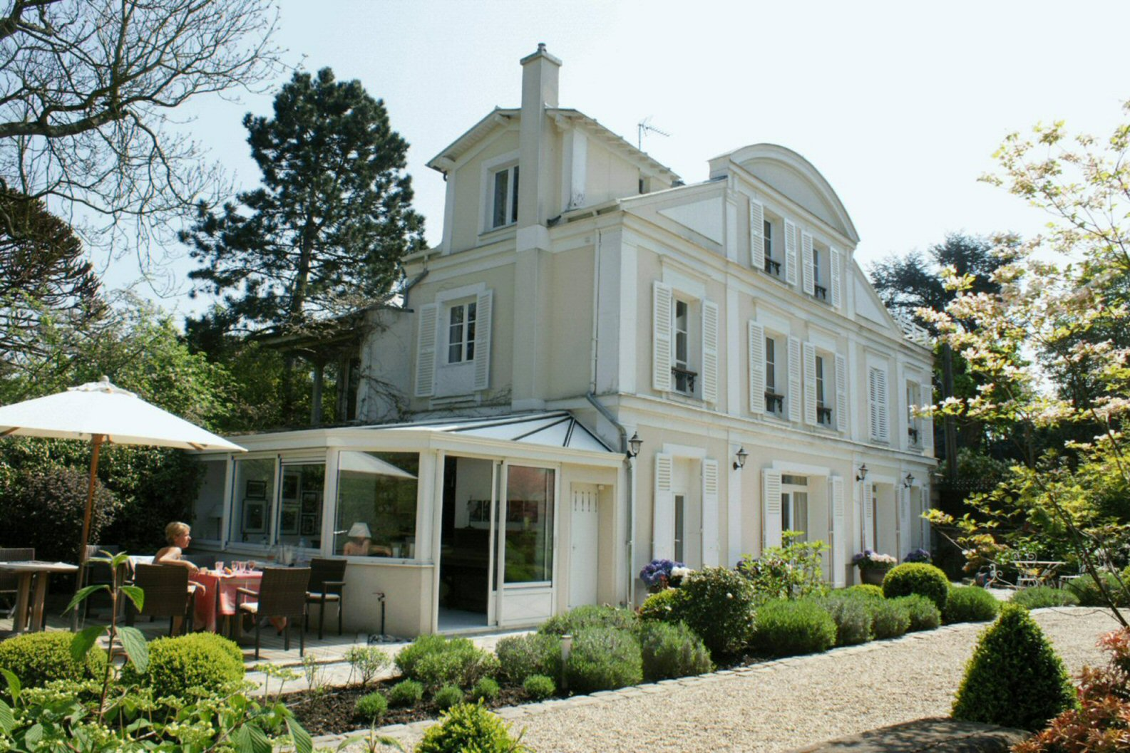 Villa Montmorency Paris France